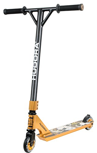 HUDORA Stunt-Scooter XQ-13, rot - 14026 - Freestyle Tretroller